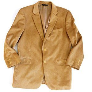 Jos A Bank Men's Tan Corduroy Blazer Sport Coat